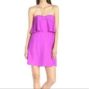 Alice and Trixie Selena Silk Popover Dress